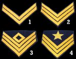 Union Cavalry Insignia Chevrons [Allow 5-6 Weeks]